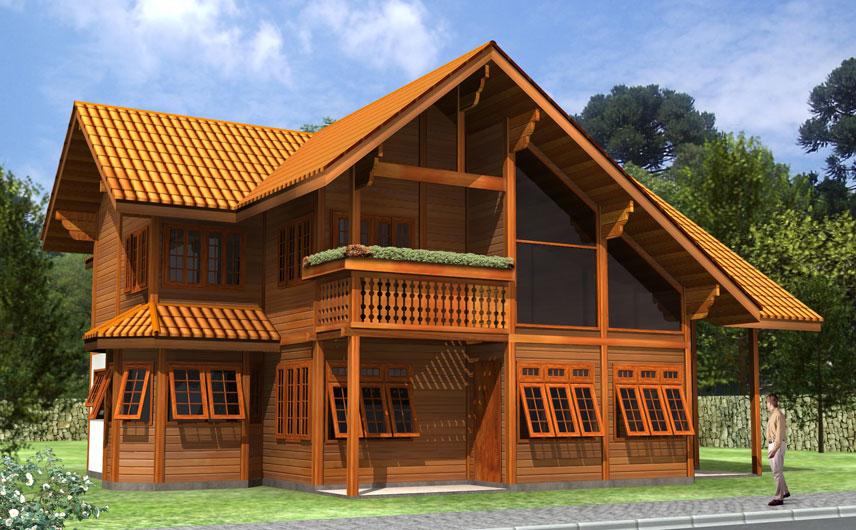 JB Casas de Madeira - Casas Pré Fabricadas em Madeira de Lei