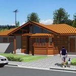 Casa de Madeira – Jaguaré-ES – 97,85 m²