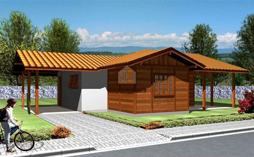JB Casa de Madeira – Ecoporanga-ES – 108,31 m²