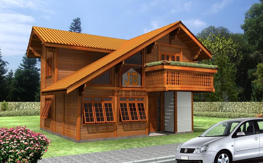 Casa de Madeira – Porto Seguro-BA - 166,96 m² - 166,96 m²