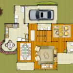 Casa de Madeira – Camaçari-BA – 208,25 m²
