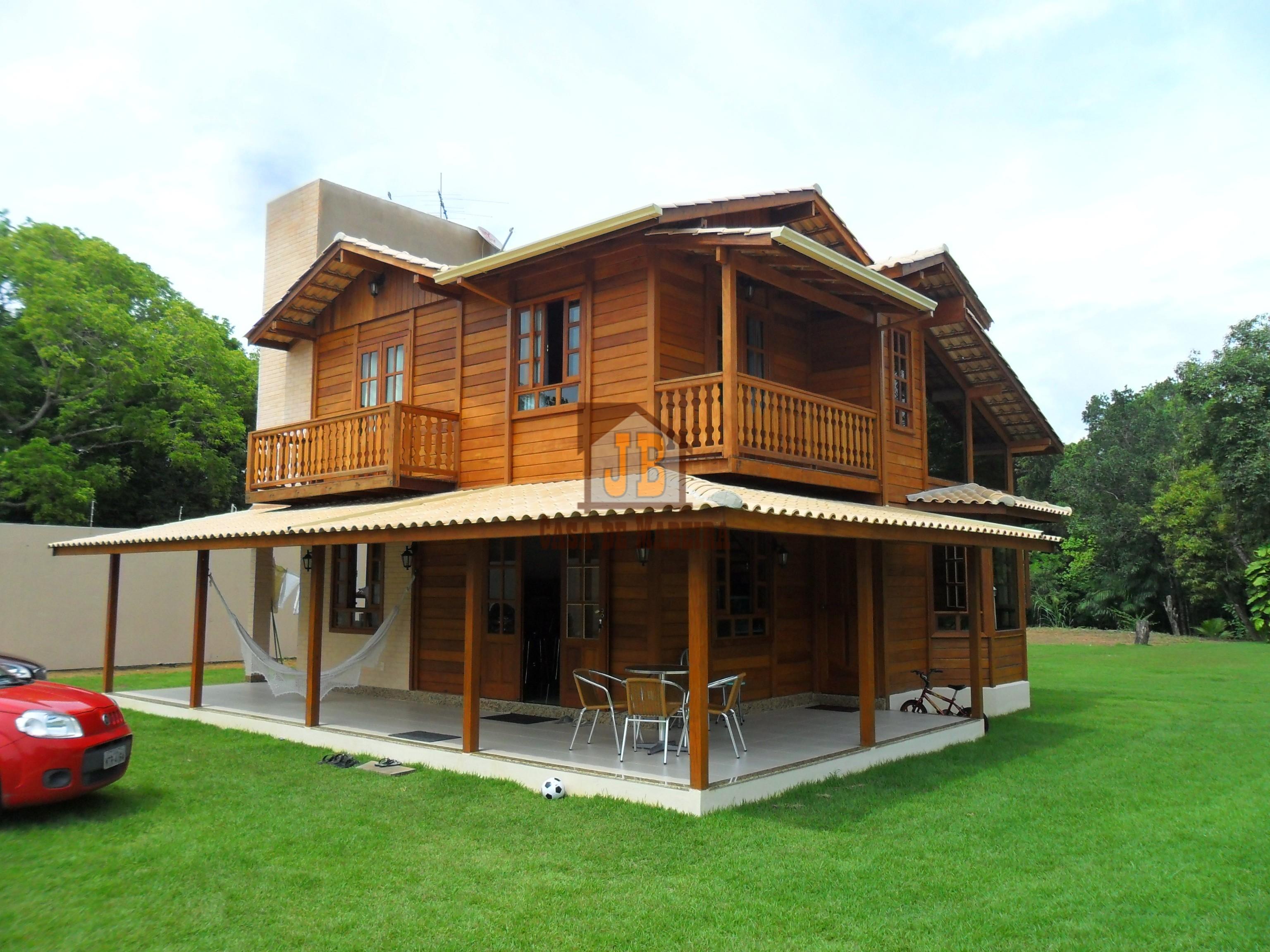 JB Casa de Madeira – Colatina-ES - 145,00 m²