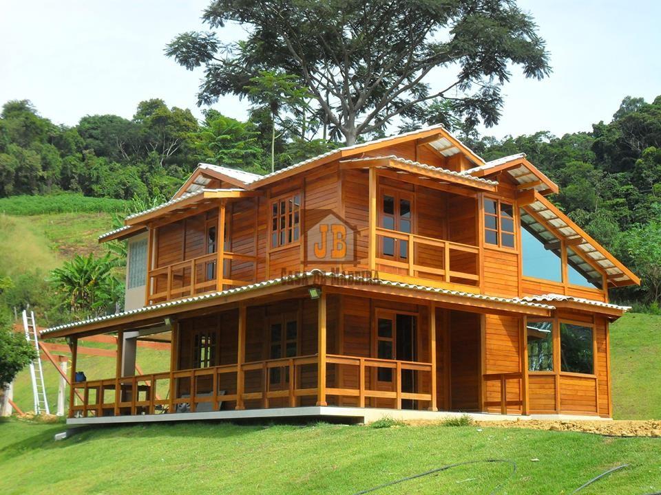JB Casa de Madeira – Linhares-ES - 160,00 m²