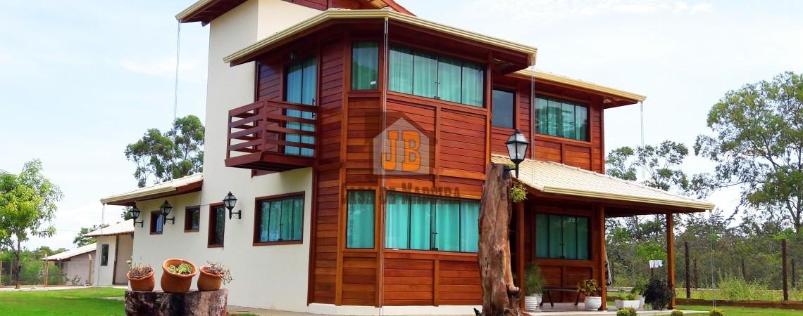 JB Casa de Madeira – Barra de São Francisco-ES - 104,98 m²