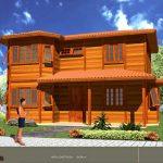 Casa de Madeira – Barra de São Francisco-ES – 104.98 m²