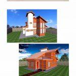 Casa de Madeira Duplex – Santa Maria de Jetibá-ES - 119,26 m²