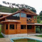 Casa de Madeira Duplex – Domingos Martins-ES - 130,30 m²