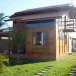 Casa de Madeira Duplex – Ibatiba-ES - 80,10 m²