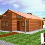 Casa de Madeira – Paraju-ES - 87,60 m²