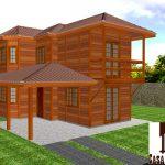 Casa de Madeira Duplex – Conceição do Castelo-ES – 99,00 m²