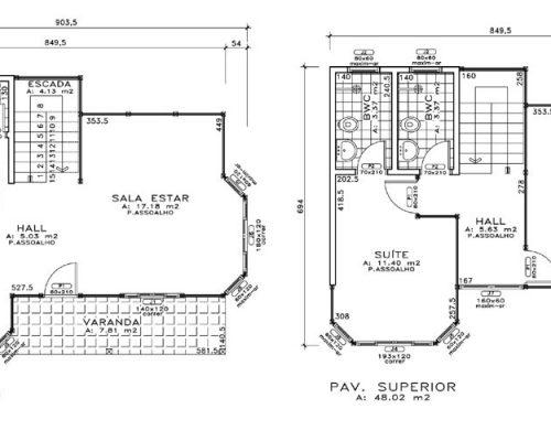 Duplex JB Casa de Madeira – Barra de São Francisco-ES – 110 m²