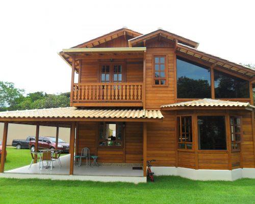 Duplex JB Casa de Madeira – Modelo Colatina-ES – 150 m²