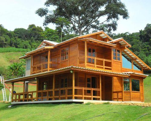 Duplex JB Casa de Madeira – Modelo Colatina-ES – 167 m²