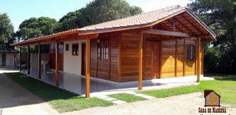 Promoção - Casa de Pinus Tratado 89,50 m² - JB Casas