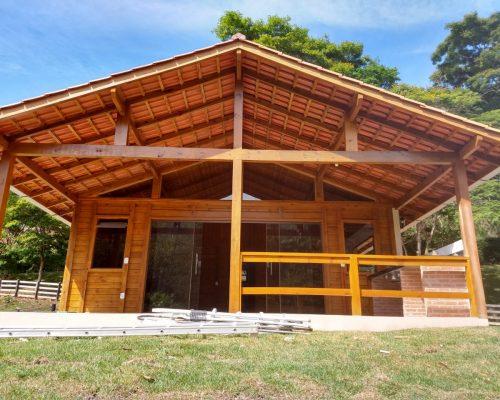 Casa de Madeira - Pedra Azul-ES – 90 m²