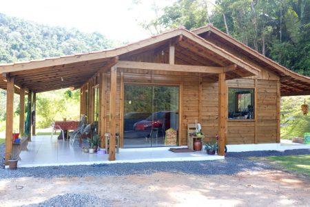 Promoção: Casa de Pinus Tratado 100 m² - JB Casas