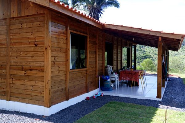Casa Térrea de Madeira – Santa Teresa-ES – 100 m²
